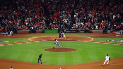 La franquicia de Houston colocó una cámara en los jardín para mirar las señales de catcher (Foto: Getty Images)