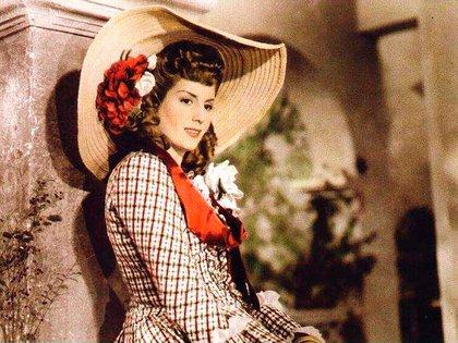 """Eva Duarte en """"La Dama El Caballero y El Ladrón"""""""