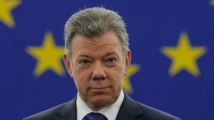 El ex presidente colombiano Juan Manuel Santos (Reuters)