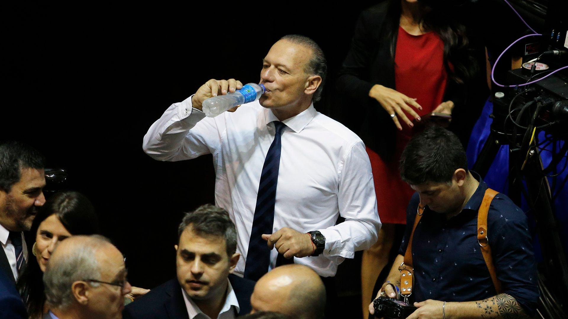 Sergio Berni continuará como ministro de Seguridad, aseguró el jefe de Gabinete bonaerense (Nicolás Aboaf)