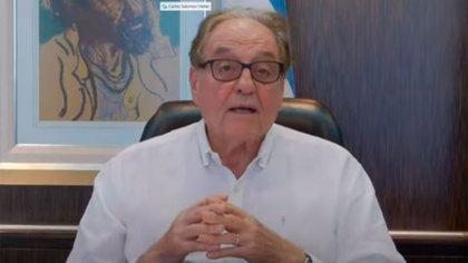 Carlos Heller, presidente de la comisión de Presupuesto