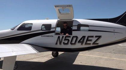 Avión que produce cero emisiones (Foto: Captura de Pantalla)