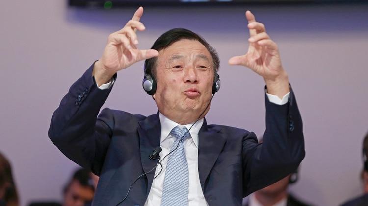 Ren Zhengfei, fundador y presidente de Huawei (AFP)