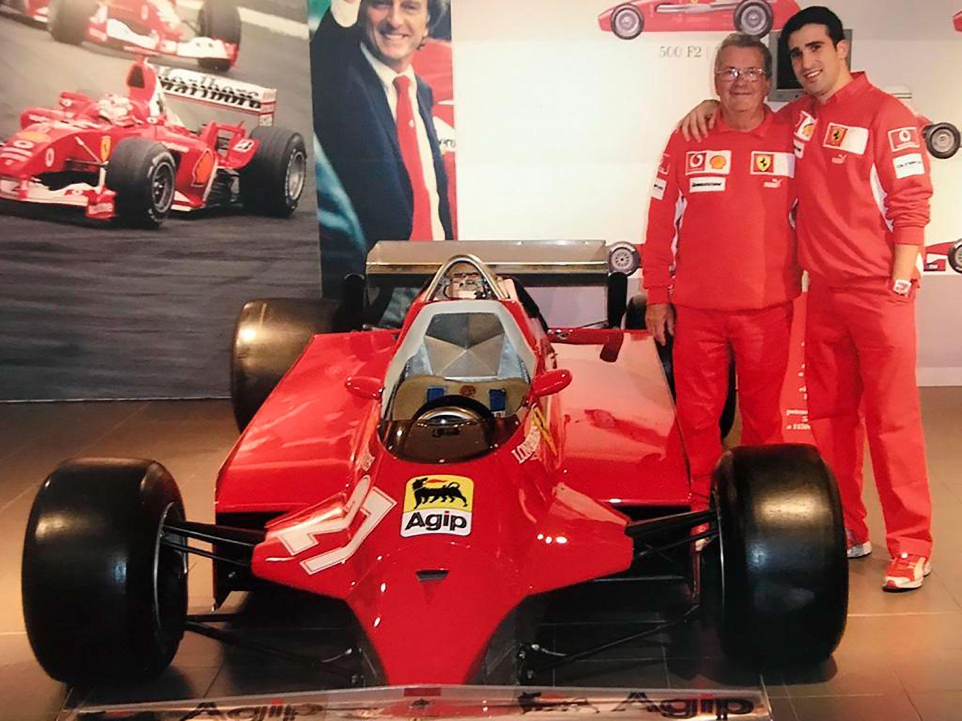 Historias del mecánico de Ferrari