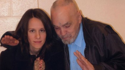 Afton Burton, prometida de Manson en prisión