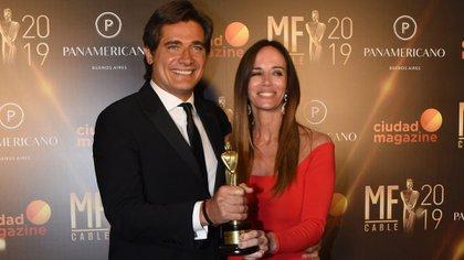 Guillermo Andino y Carolina Prat (Foto: Franco Fafasuli)