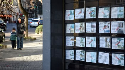 Los alquileres en la Ciudad de Buenos Aires aumentaron un 2,4% en febrero -1,3 puntos por debajo de la inflación oficial del mes- (Nicolás Stulberg)