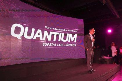 Marcos Bulgheroni, CEO de PAEG, en el lanzamiento del nuevo producto