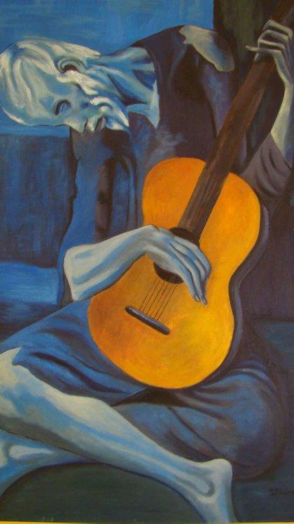El viejo guitarrista ciego (1904)