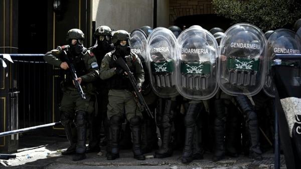 Además de PSA, al juzgado federal también fue custodiado por Gendarmería