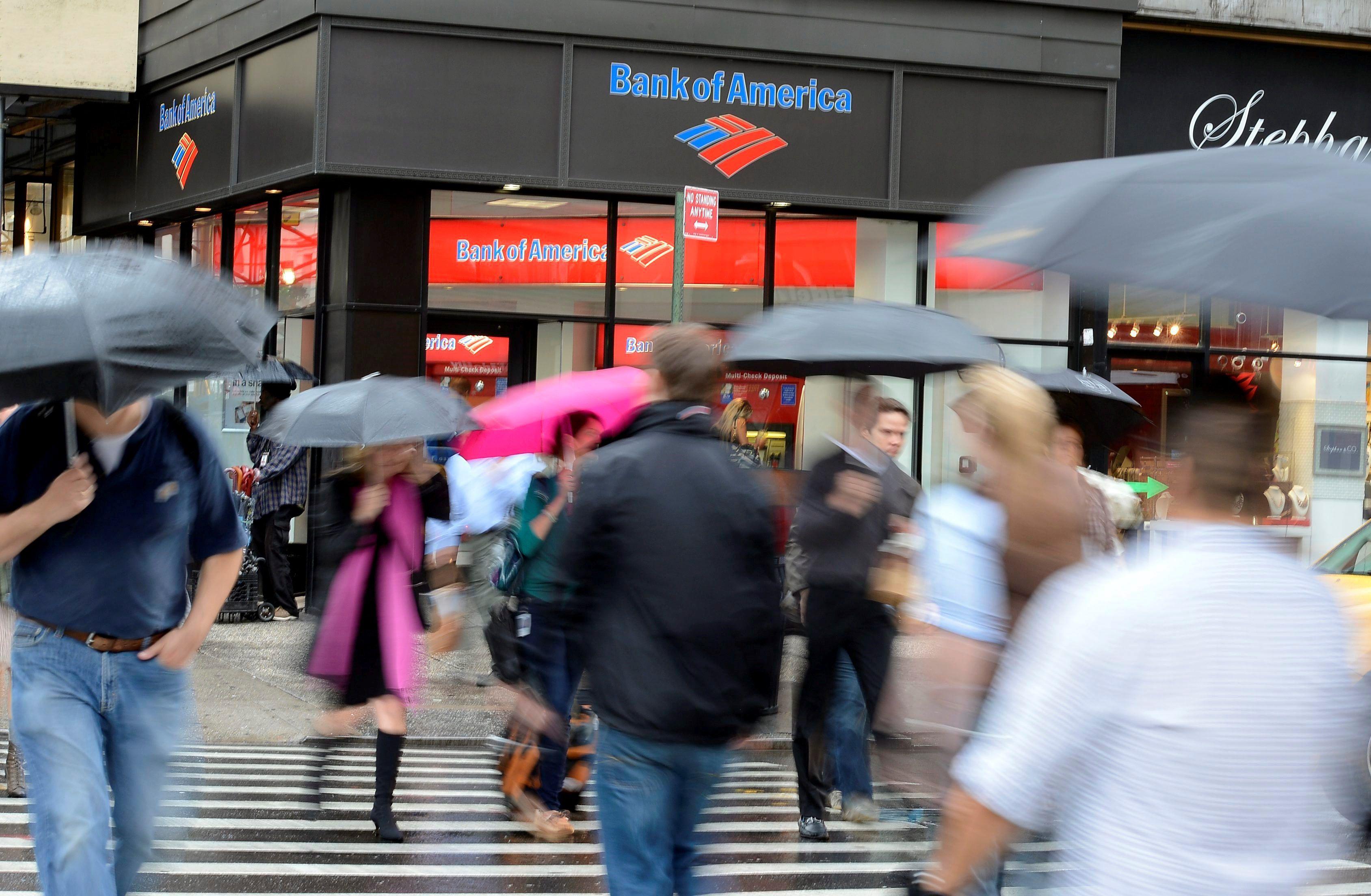 La facturación acumulada de Bank of America entre enero y septiembre ascendió un ligero 2 % interanual y se situó en 67.053 millones. Fotografía de archivo. EFE/Andrew Gombert