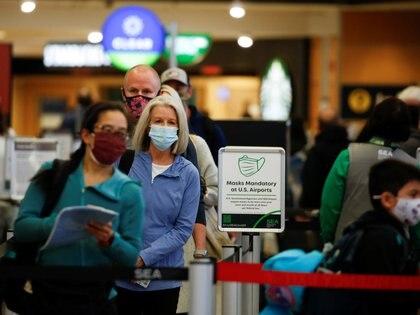 Revisiones de seguridad en el aeropuerto de Seattle-Tacoma (Reuters)
