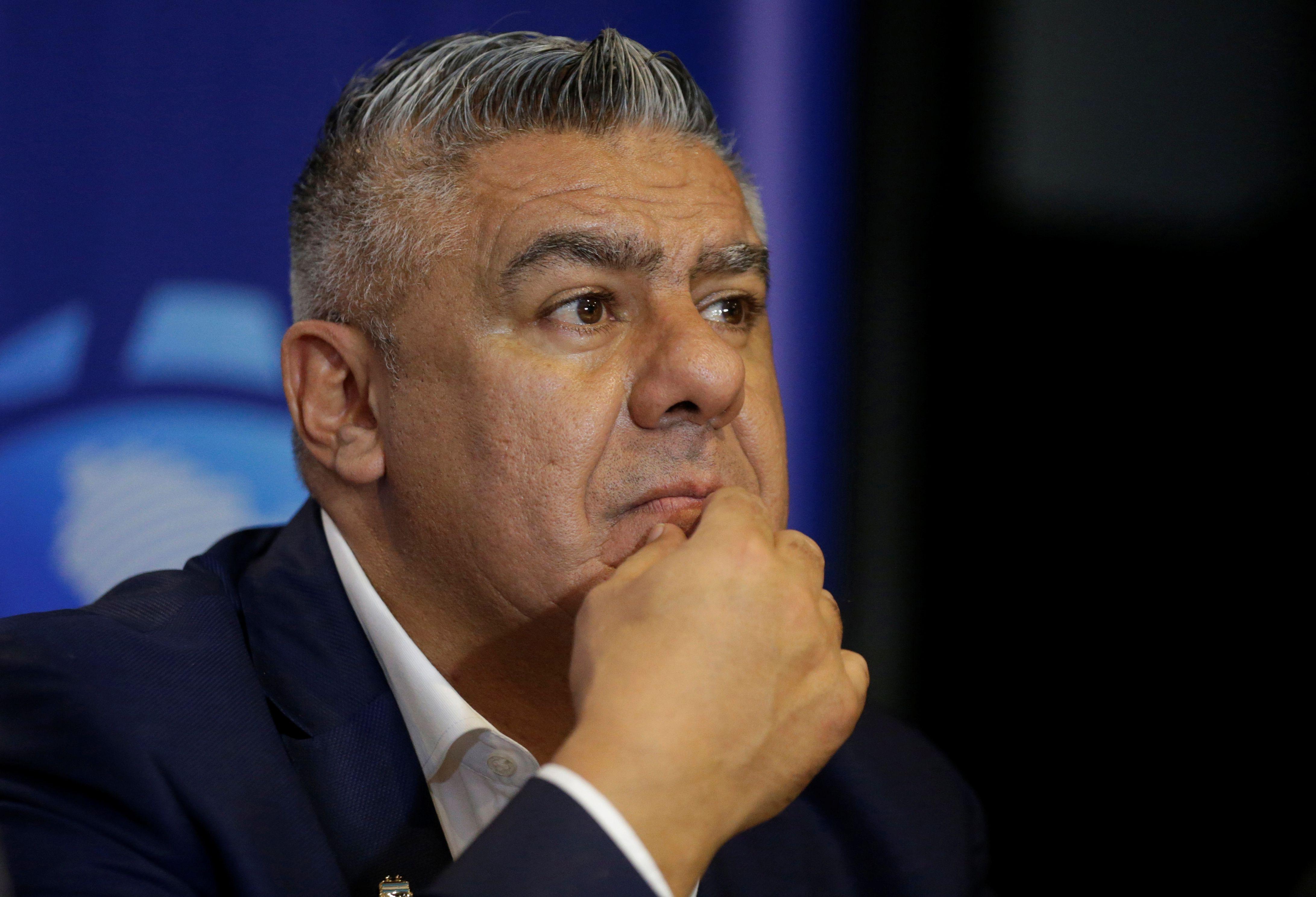 El presidente de la AFA manifestó su preocupación por el calendario de la Superliga Foto: REUTERS/Jorge Adorno