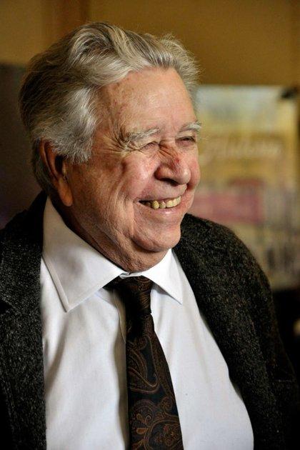 Felguérez se mantenía activo a los 90 años y trabajaba siete y ocho horas al día (Foto: Cuartoscuro)