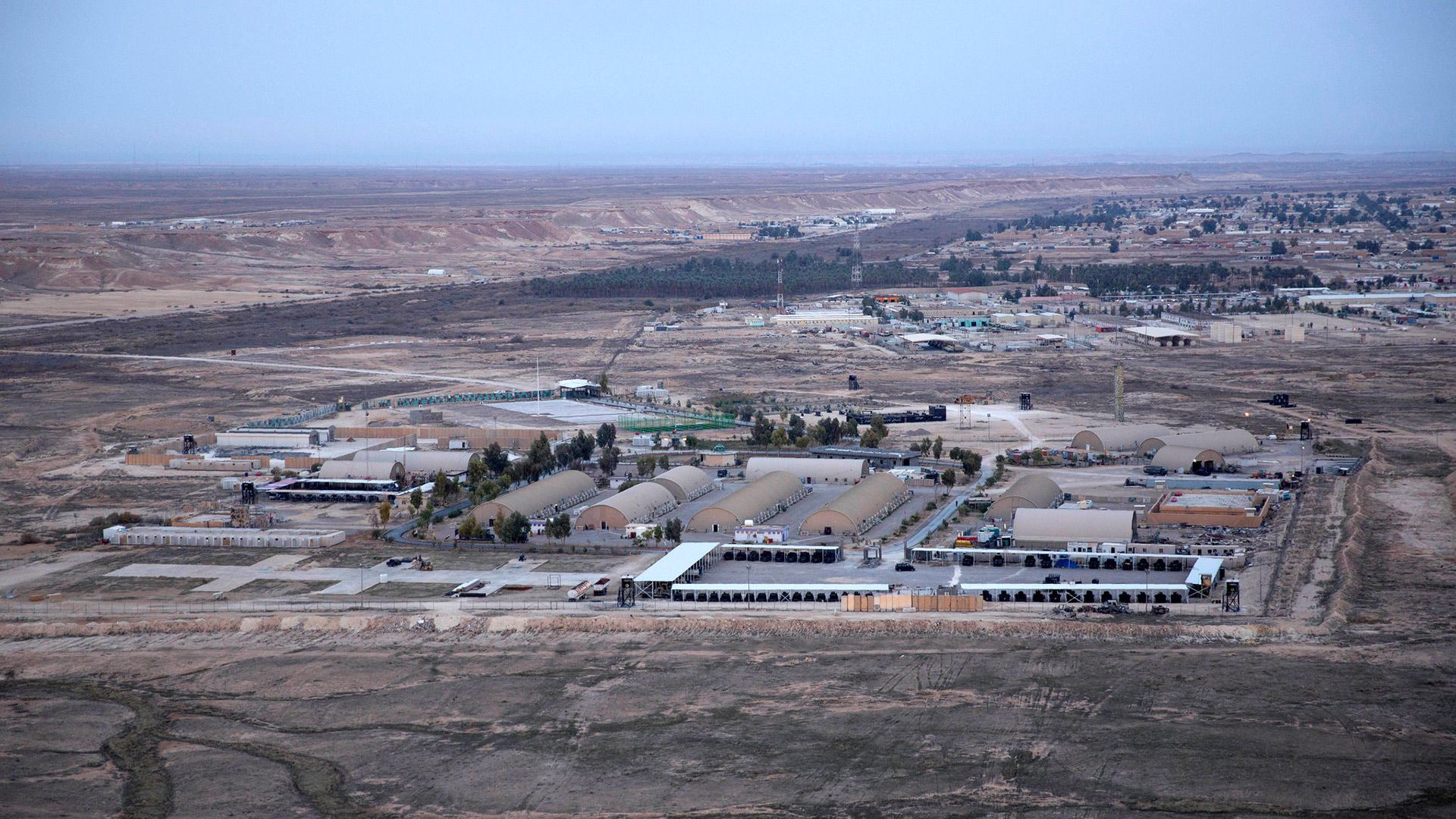 Base en Irak. AP