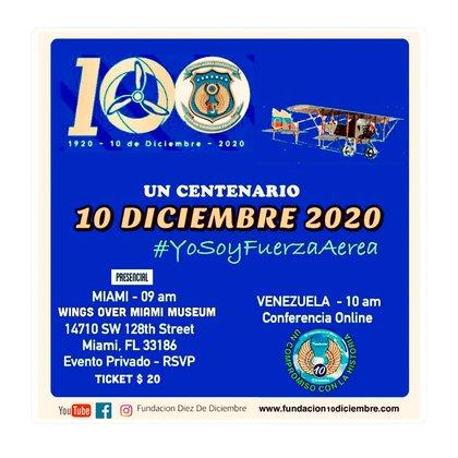 La Fundación 10 de Diciembre aglutina a cientos de oficiales de la Aviación