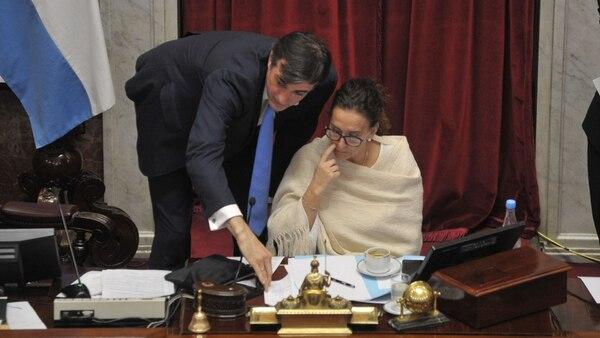 Esteban Bullrich y Gabriela Michetti