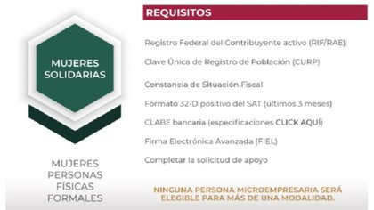 Requisitos (Foto: SE)