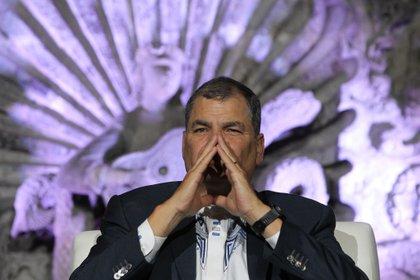 En la imagen, el ex presidente de Ecuador, Rafael Correa (EFE)