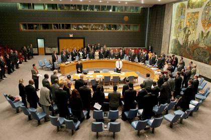 Consejo de Seguridad, de la ONU