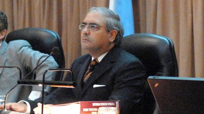 El juez Daniel Obligado (Foto NA: Leonardo Zavattaro)
