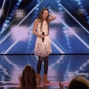 Courtney Hadwin de 13 años de edad deslumbró al jurado de America's Got Talent
