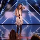 Courtney Hadwin de 13 años de edad deslumbró al jurado de America's Got Talent