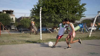 Fundación El Potrero comenzó a trabajar hace ocho años en barrios vulnerables en Troncos de El Talar, en el partido de Tigre