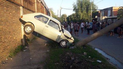 """La madre del menor dijo que su hijo se llevó el auto de la casa """"sin permiso"""""""