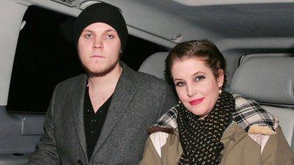 Lisa Marie Presley y su hijo Benjamin