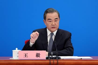 Wang Yi, canciller chino (Reuters)