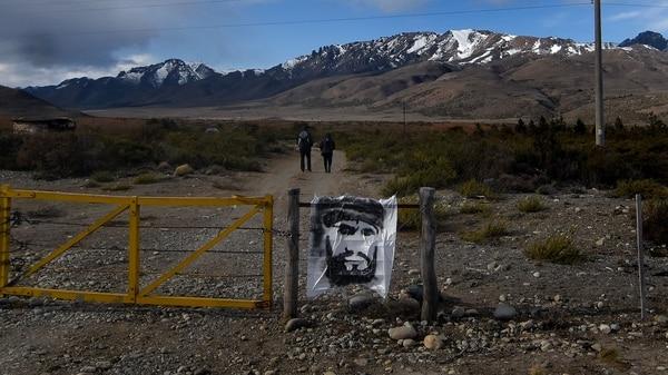 Entrada a la Pu Lof, territorio mapuche donde se vio a Maldonado por última vez (Nicolás Stulberg)