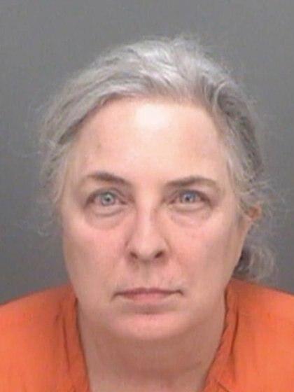 La mujer fue arrestada y pagó una fianza de 15.000 dórales Foto: (Pinellas County Sheriff's Office)