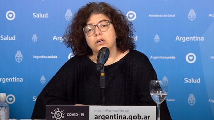 Carla Vizzoti, subsecretaria de Acceso a la Salud