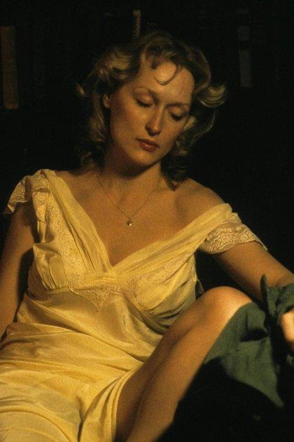 Meryl Streep en La decision de Sophie