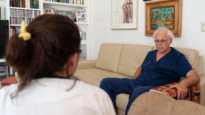 Sebastiani tiene 67 años y desde hace 45 es obstetra (Gustavo Gavotti)