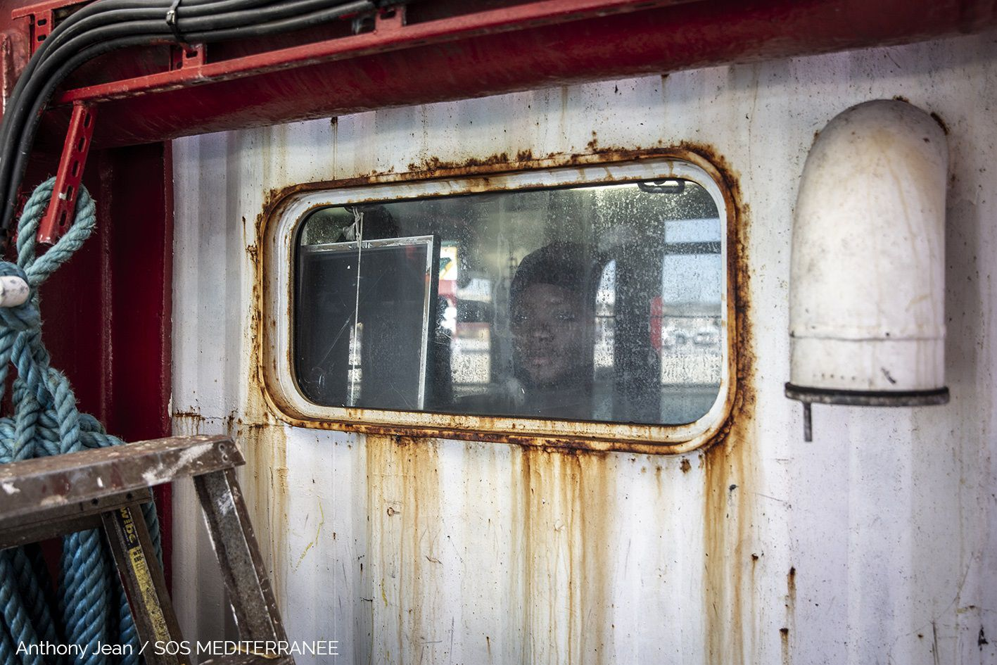 23/02/2020 El barco de salvamento 'Ocean Viking' POLITICA INTERNACIONAL EUROPA ANTHONY JEAN/SOS MEDITERRANEE
