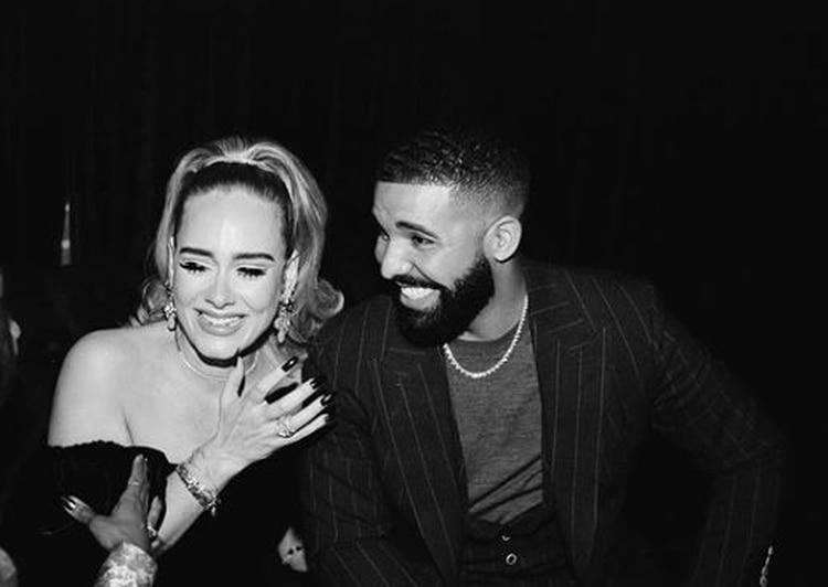 Drake también compartió una fotografía de la rubia en su cuenta de Instagram.