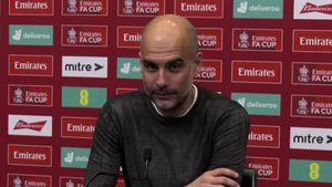 """Tenso cruce entre Guardiola y un periodista en plena conferencia: """"Es un argumento tan pobre"""""""