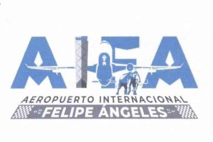 El emblema tiene un mamut, una torre de control y un avión (Foto: Twitter/ SimpsonitoMX)