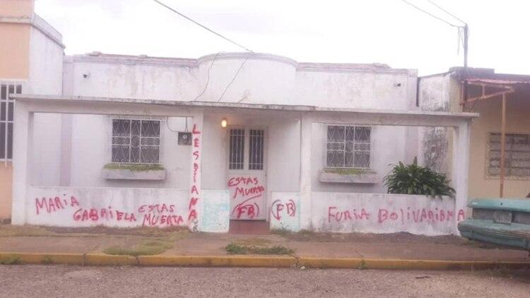 En Anzoátegui, así quedó la casa de María Gabriela Suárez