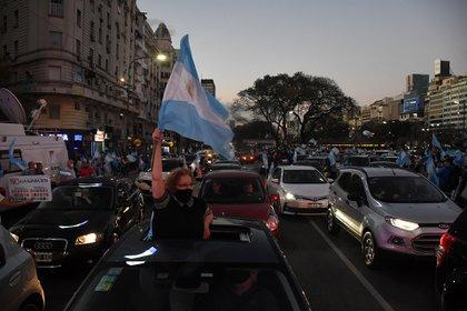En Juntos por el Cambio hubo reacciones disímiles frente al nuevo banderazo (Foto Nicolás Stulberg)