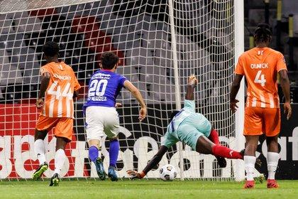 El resultado final de los octavos de final de la Liga de Campeones fue de 8 - 0  (Foto: EFE/José Méndez)