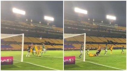 """Los usuarios en redes sociales han criticado y calificado de """"tramposa"""" la acción por parte de las jugadoras de Tigres femenil. (Foto: Twitter)"""