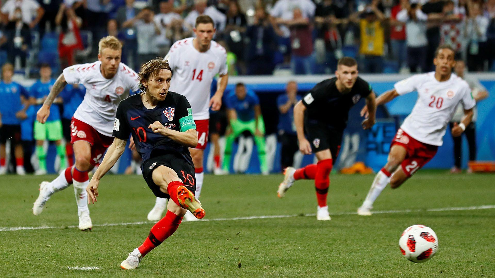 Modric fue figura del Mundial de Rusia 2018, torneo en el que llegó hasta la final con Croacia (Reuters)