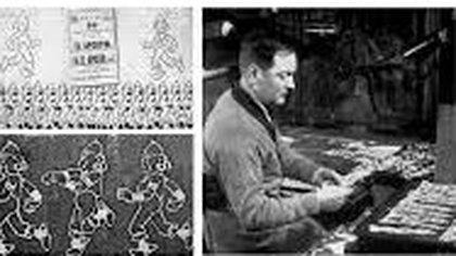 Quirino Cristiani, el inventor de los dibujos animados. Orgulloso de haberle ganado a Walt Disney.
