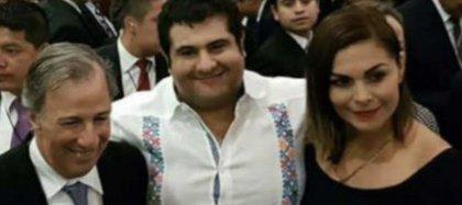 (Al centro) Rodrigo Sánchez Flores, ex candidato a la presidencia de Tamazunchale