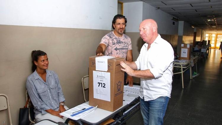 El candidato del PRO Carlos Mac Allister perdió la interna contra Kroneberger (Julián Varela)