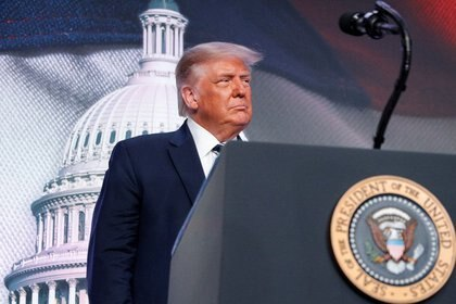 El presidente de EEUU, Donald Trump, en reunión de Consejo para la Política Nacional 2020 (REUTERS/Tom Brenner/Archivo)