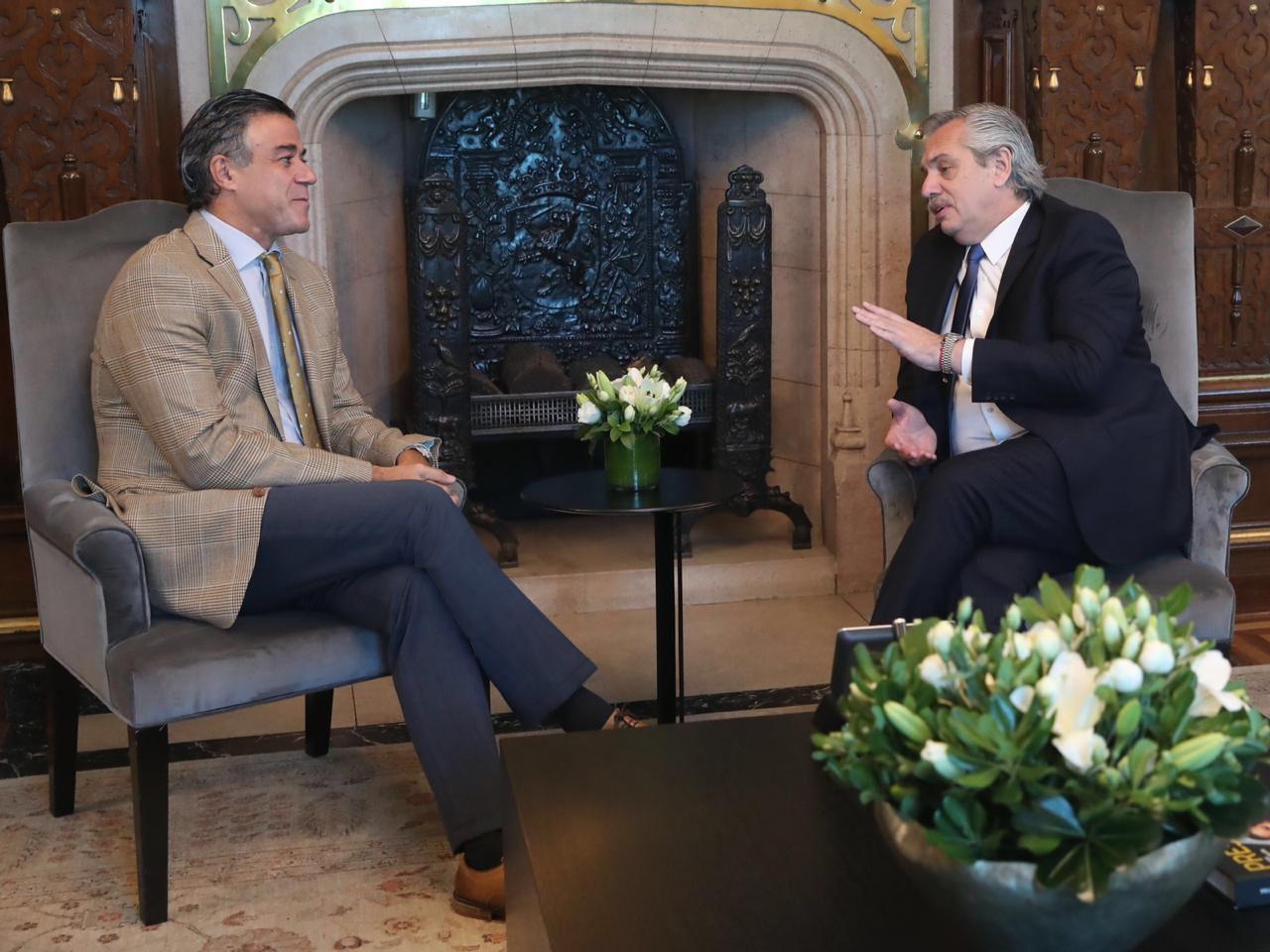 Daniel Rafecas, junto con el presidente Alberto Fernández que lo propuso para la Procuración